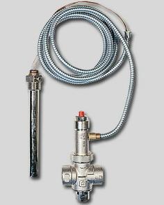 Клапан предохранительный для твердотопливных котлов STS 20 Watts 02.32.120