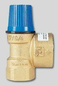 """Клапан предохранительный для систем водоснабжения SVW 1/2"""" х 6,0 бар Watts 02.16.106"""