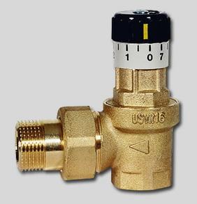 Перепускной клапан USVR 20 Watts 02.65.220