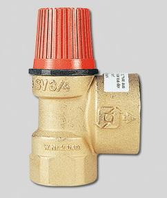 """Предохранительный клапан для систем отопления SVH 1/2"""" х 1,5 бар Watts 02.15.115"""