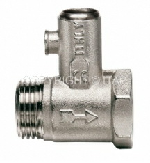 Клапан предохранительный для бойлера Ду 1/2 ITAP