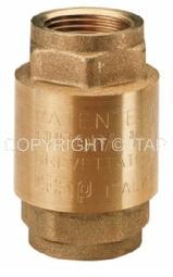 Клапан обратный пружинный муфтовый с мет.седлом Ду 1/2 ITAP