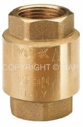 Клапан обратный пружинный муфтовый с пластиковым седлом Ду 1/2 ITAP