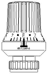 """Термостат """"Uni XD"""" Oventrop 1011375"""