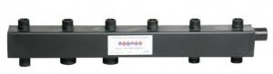Коллектор стандарт + для котельной обвязки до 90 кВт КК - 25М/125/40/3+1