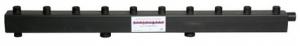 Коллектор стандарт для котельной обвязки до 90 кВт KK-25M/125/40/4 Designsteel