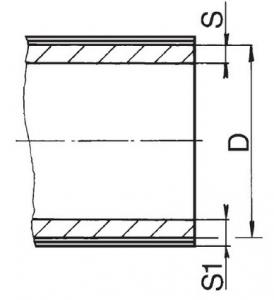 Труба Stabi с алюминиевой вставкой PN 20 20 x 3,0 FV Plast