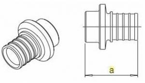 Монтажная шина 2м Rehau 137055-001