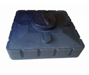 Бак для душа 240л черный 110х110х300 мм Aquatech