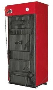 Твердотопливный котел КЧМ -5 - К-50-03 (6 секции)(50кВт)
