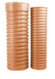 Труба гофрированная для колодца Wavin 315x2000 мм