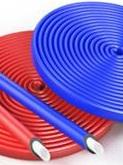 Трубная изоляция Энергофлекс Супер Протект 22/9 2м в синей защитной оболочке