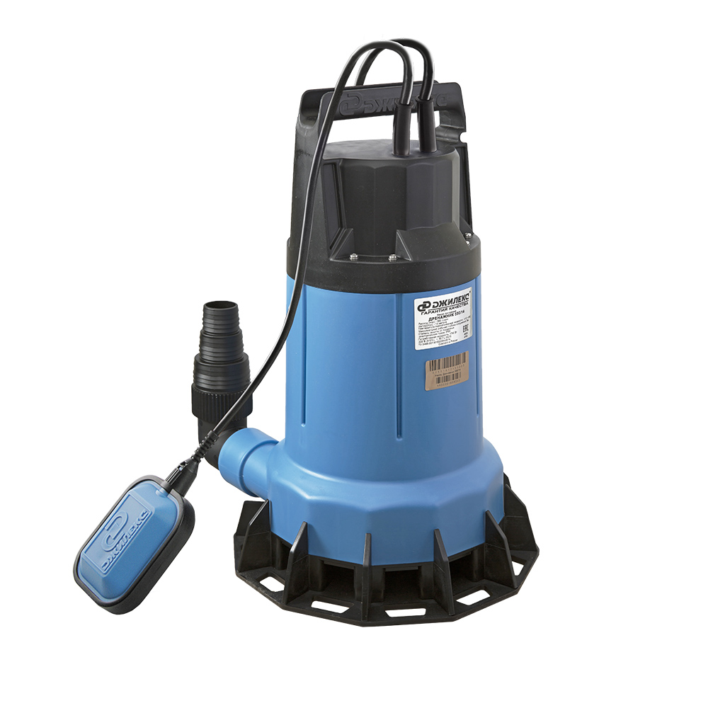 Дренажник 550/14 (14 м, 550л/мин, макс. размер твердых частиц в перекачиваемой воде: 40 мм)