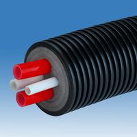 Трубопровод AustroPEX COMBI 2x40/3,7+40/5,5+25/3,5, кожух 200мм